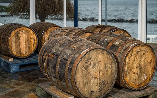 Boatyard Gin Barrels