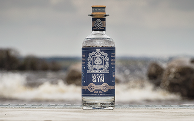Boatyard Double gin by the lough
