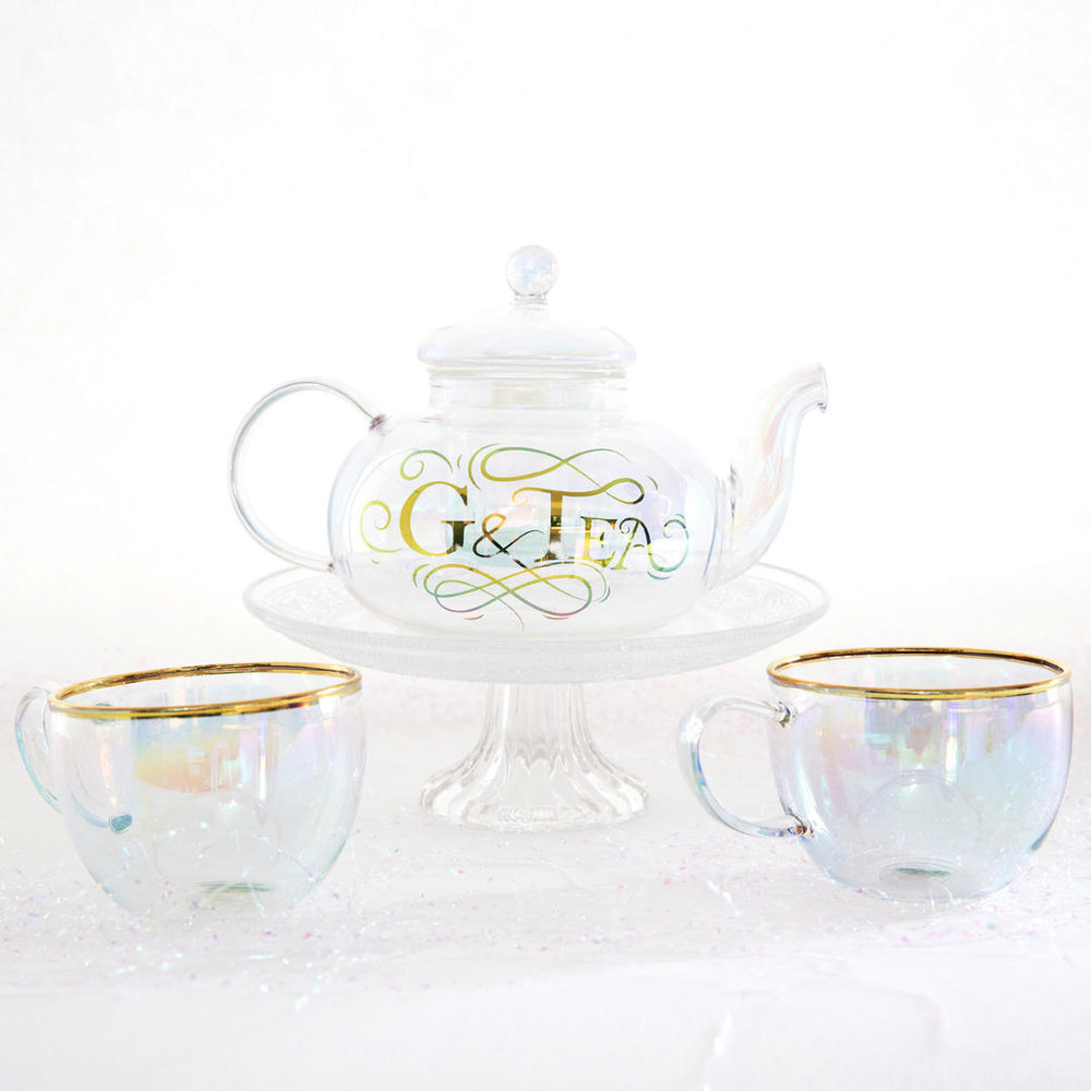 G&T Tea Pot Gin Gift Set