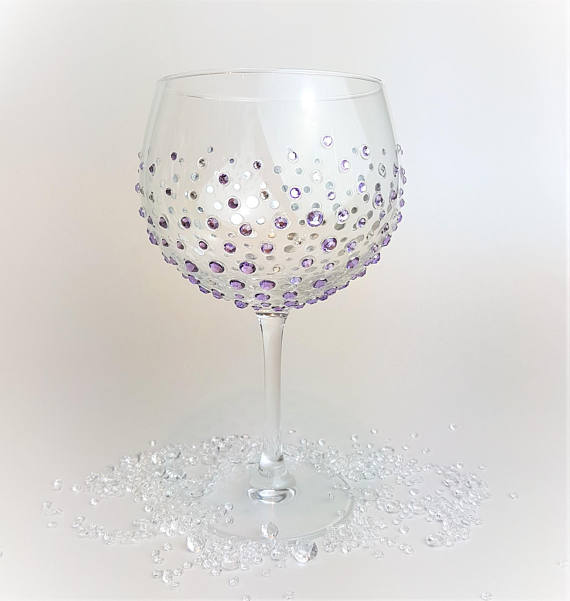 Glitter Gin Copa Glass