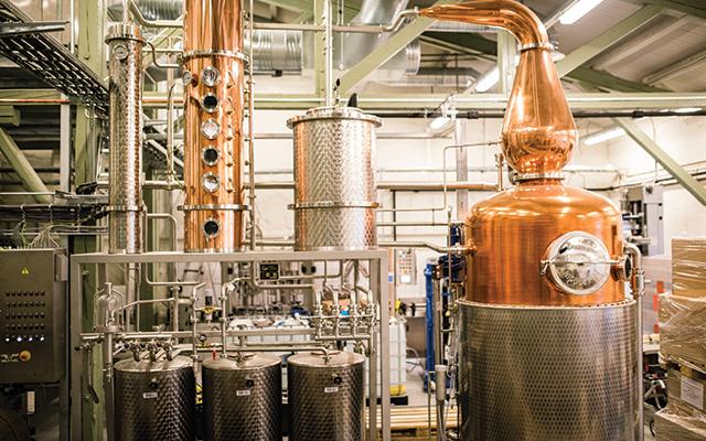 Vidda Torr Distillery and Stills
