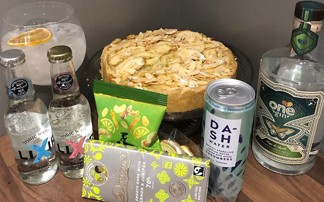 One Gin Sage, Apple and Almond Tart by Craft Gin club Member June.jpg
