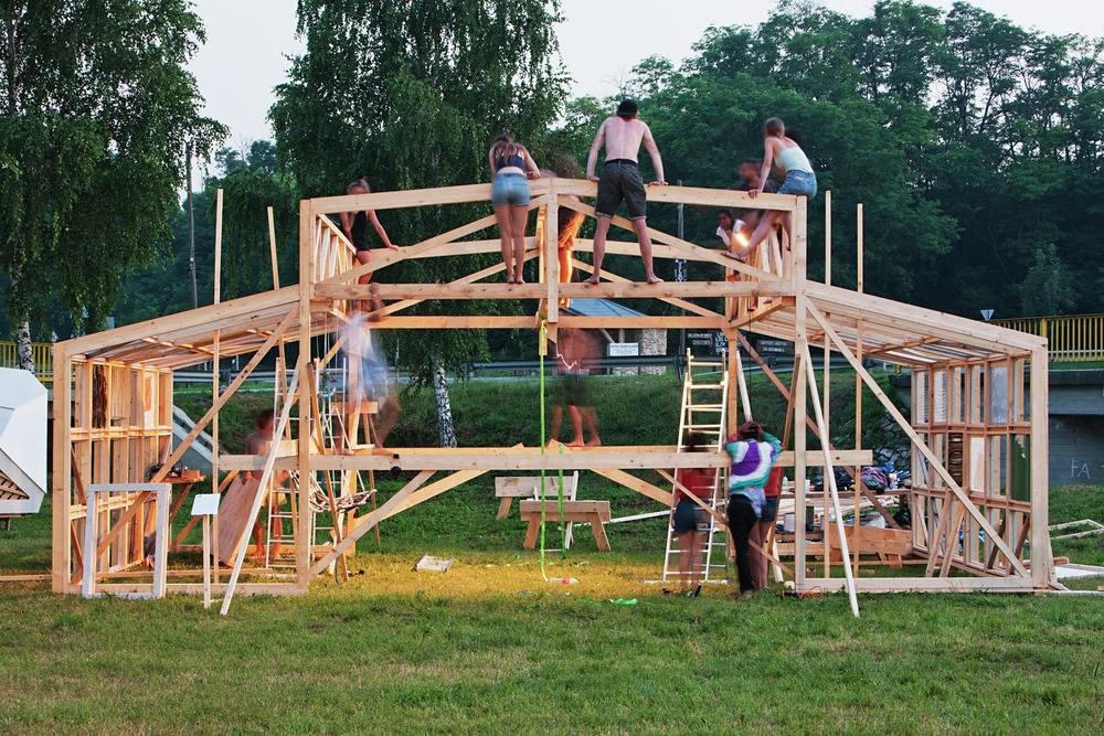 hello wood 2015 Rikkert Paauw, Ifigenea Dilaveraki and team