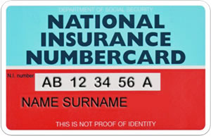 national insurance card expat