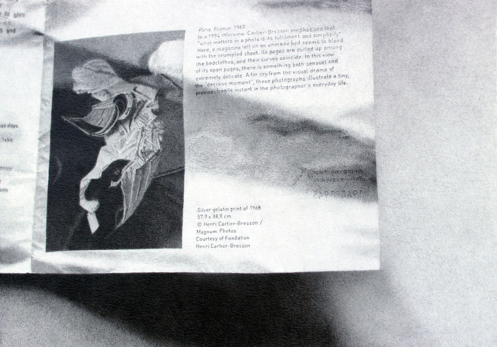 Rune Elgaard - Katalog #1 (Cartier-Bresson) (69), 2014 | Blyant på papir | 29,7x42 cm.