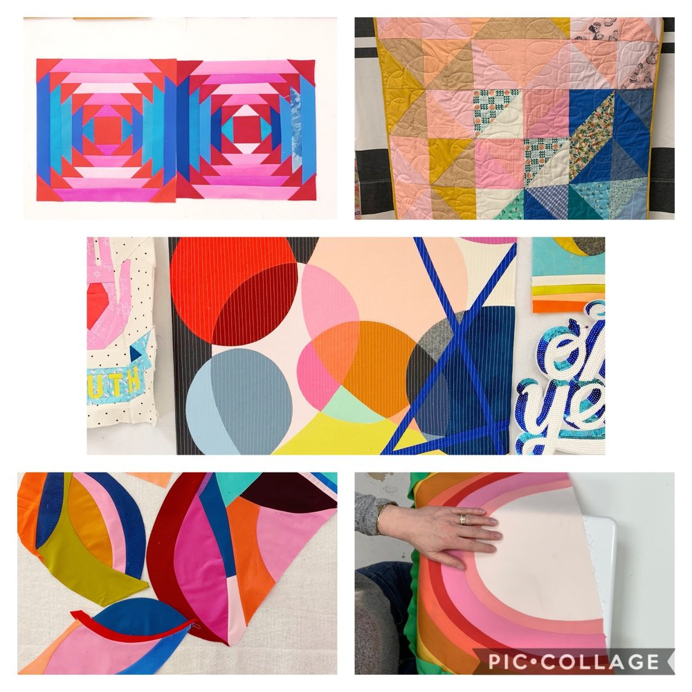 Modern Quilting - for teens - August 5-7, 4-7pm$180ages 12 and up with sewing machine experienceAll supplies included.Come join us for 3 evenings where we will explore modern quilting techniques and work on our own small modern quilt. We will play with color and shapes and put together something truly unique and creative. Be ready to use your own imagination and creativity!note: It's difficult to put a timeframe on creativity so not all students may finish their work in class. They will certainly be armed with the skills and plan to be able to finish it at home.REGISTER HERERegistration opens Friday February 22 at 10amNo refunds for no shows or cancellations within 3 days of camp commencement. Cancellations will incur a $15 charge.It is our policy at Little Pincushion Studio that students behave in a way that demonstrates self control, responsibility, respect, and age-appropriate maturity. Horseplay, dangerous behavior, using materials in an irresponsible manner etc., is ABSOLUTELY not allowed and any student conducting him or herself in a manner deemed dangerous will be held accountable and a parent will be contacted immediately.