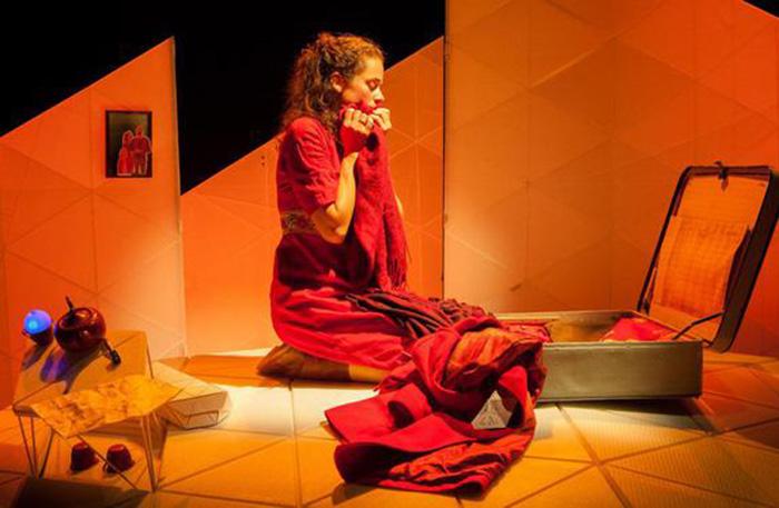 'Onbekend Land' (6+) - 2016  In co-regie van Elien van den Hoek en Gienke Deuten, een coproductie van Het Houten Huis, Oorkaan en Nordland Visual Theatre.