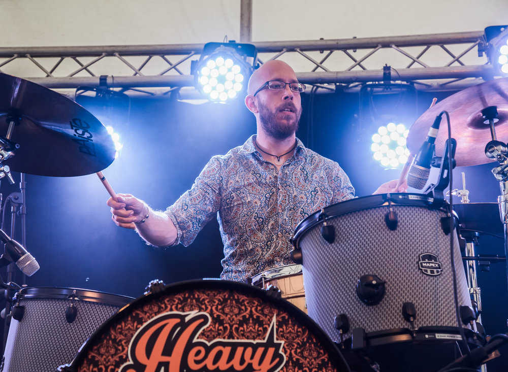 Heavy Souls at Lechlade Festival
