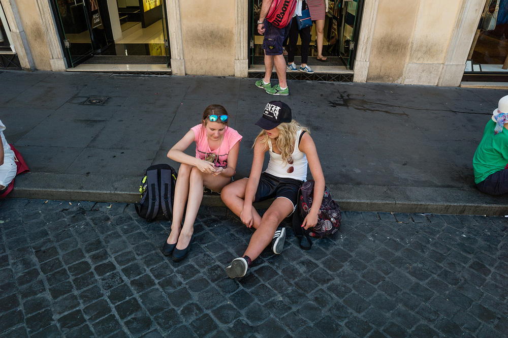 The Bottom Of The Spanish Steps -  August 2014