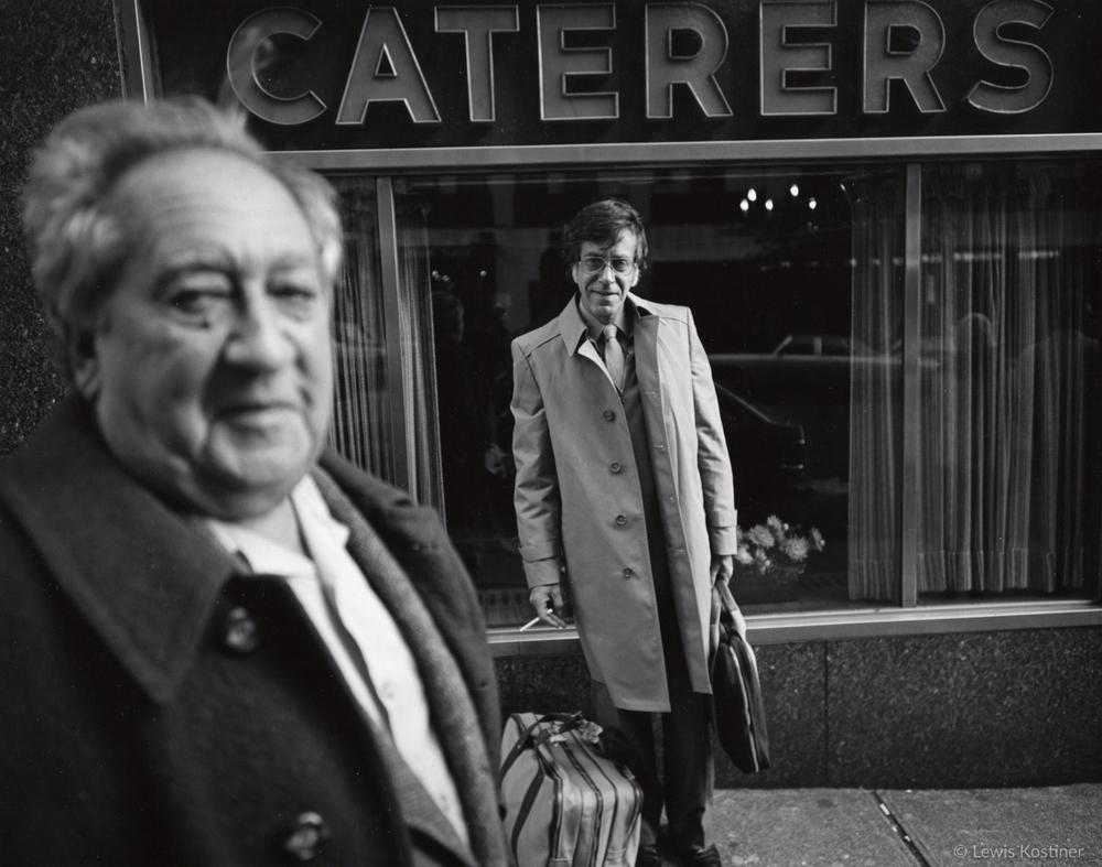 Nathan Lyons & Aaron Siskind, NY, 1982