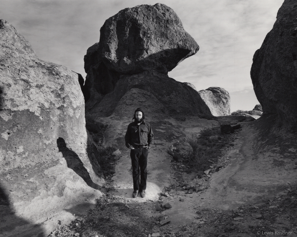 Michael Lutch, City of Rocks, Deming, NM, 1974