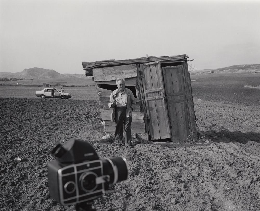 Annie Kostiner & Aaron Siskind, Sicily, 1984