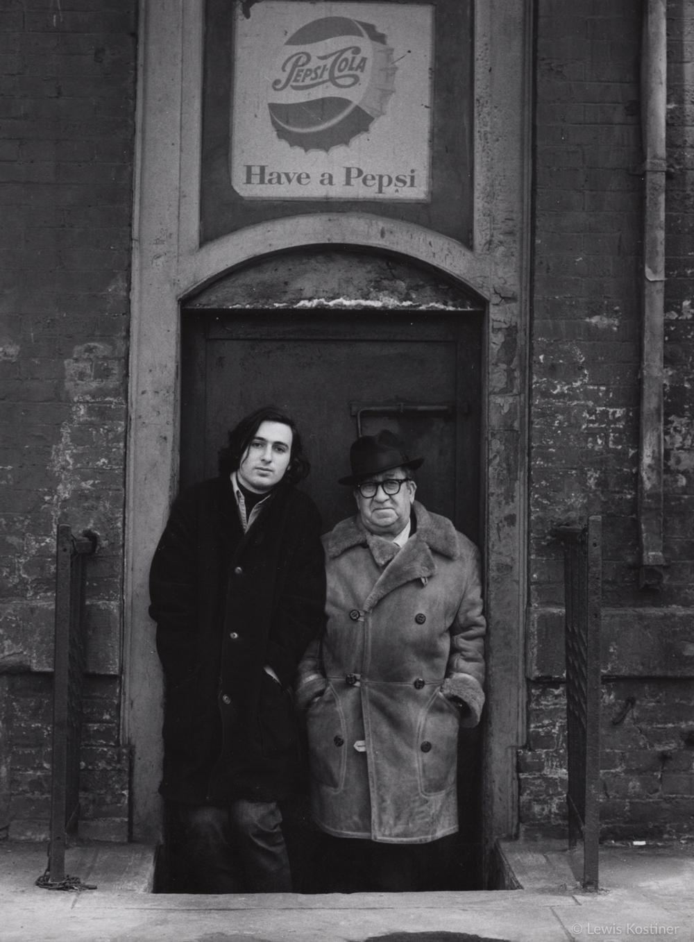 Aaron Siskind & Lewis Kostiner, New York, 1976