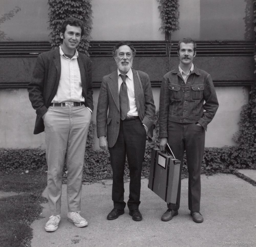Arthur Lazar, Arthur Siegel & Jeff Silverthorne, Chicago, 1973