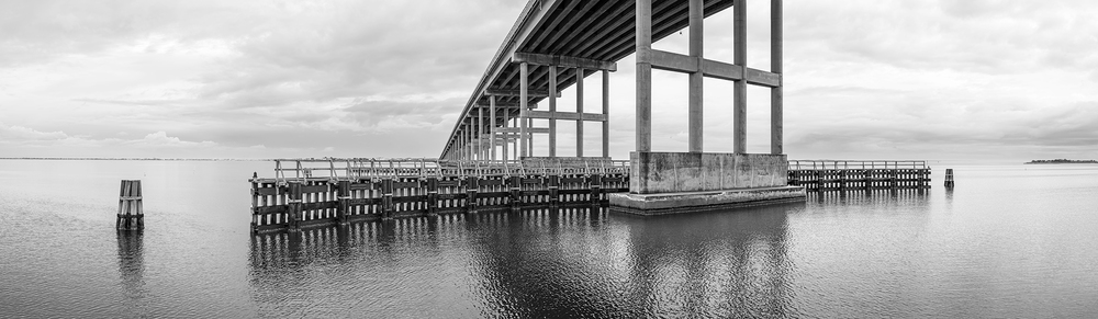 Washington Baum Bridge, Roanoke Island, NC.