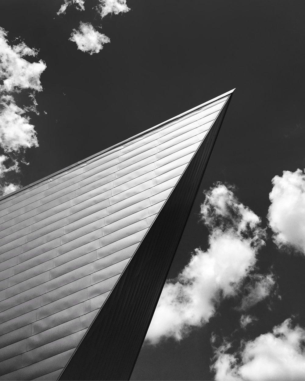 Denver Art Museum byStudio Libeskind. iPhone 6S photo© Miller Taylor