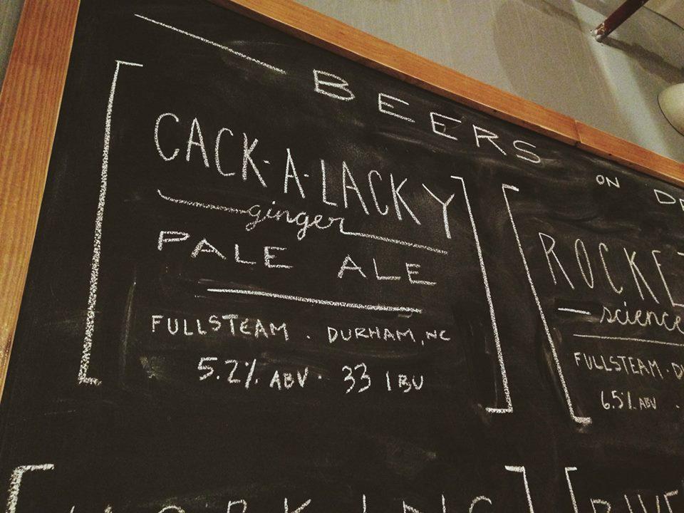 Cackalacky Brewery, NC