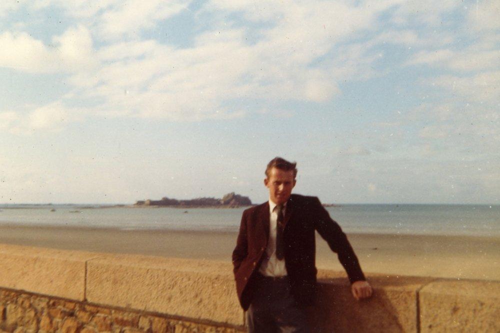 Michael, 1961 - View to Elizabeth Castle from St Helier Esplanade