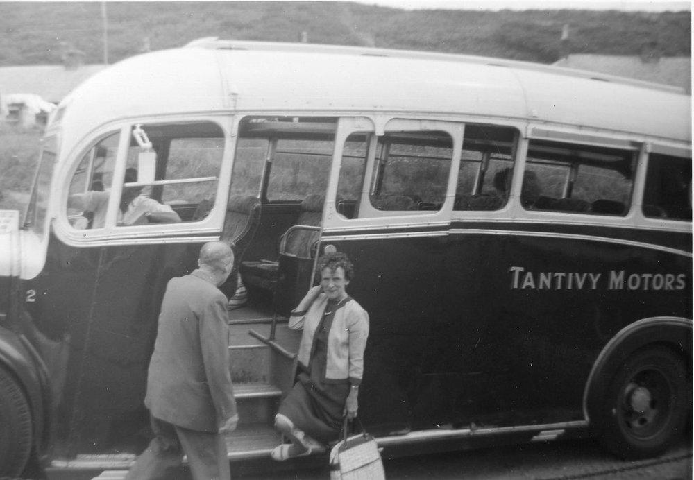Margaret - Tantivy Motors, 1961