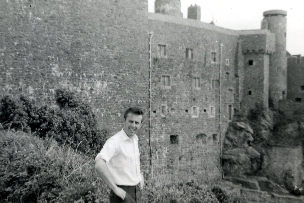 Michael, Mont Orgueil Castle, 1961