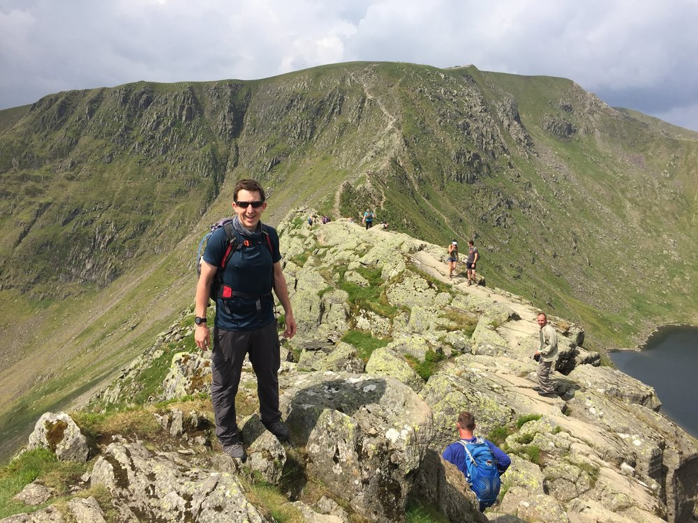Striding Edge, Helvellyn. June 2018