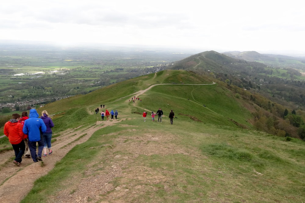 Worcestershire Beacon. April 2014