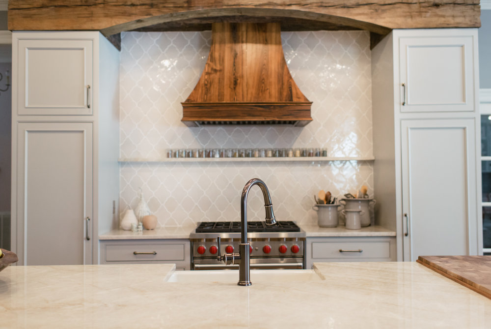 Kitchen Designed by Katrina Porter Designs. Photographed by Paula Coldiron.