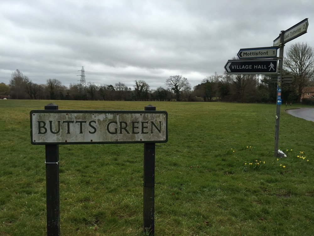 Bienvenue à Butts Green.