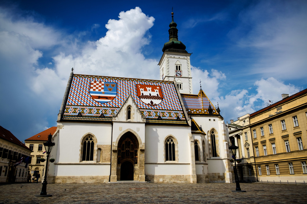 Église St-Marc, Zagreb.