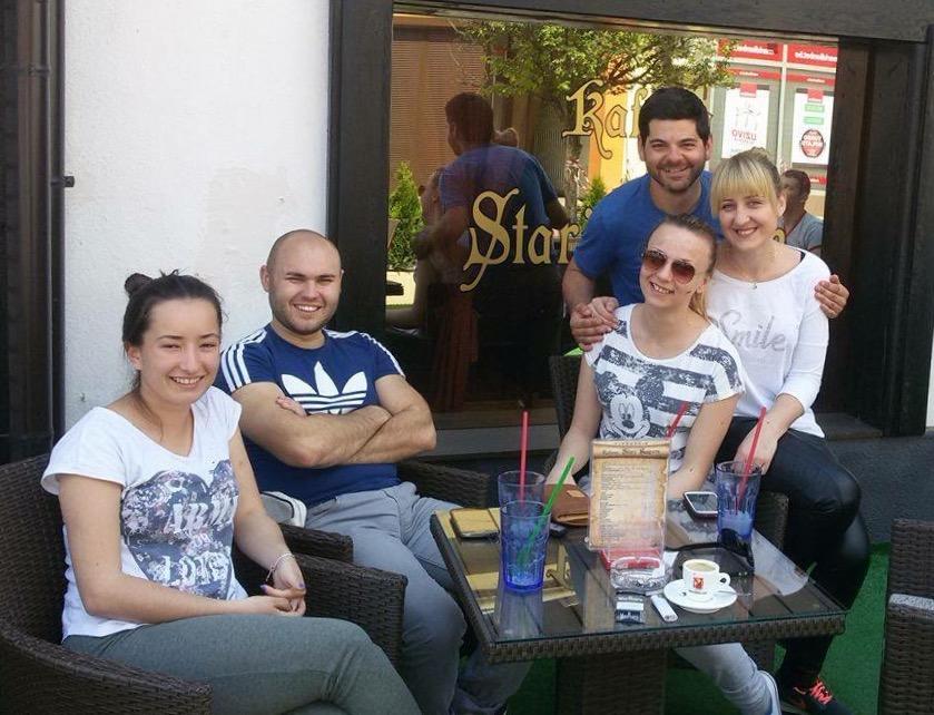 Lana, Dalibor, Natasa et Snezna.