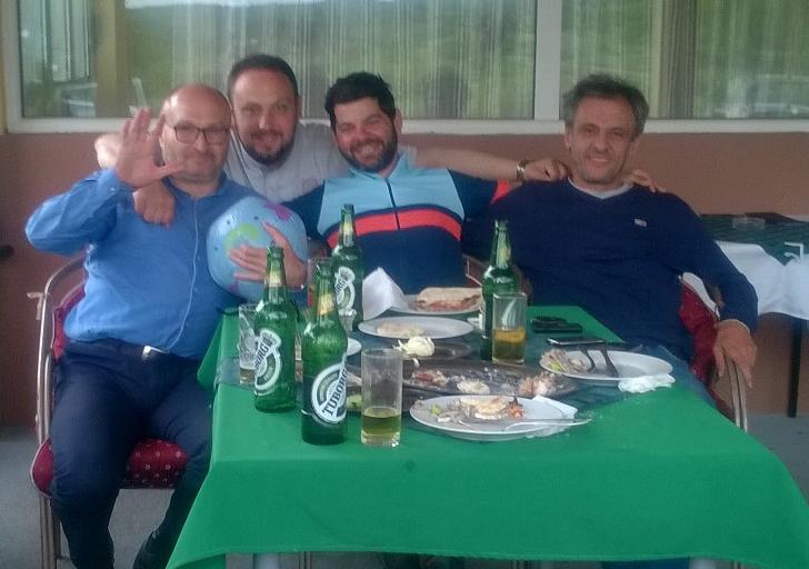 Miško, Goran et Dragan.