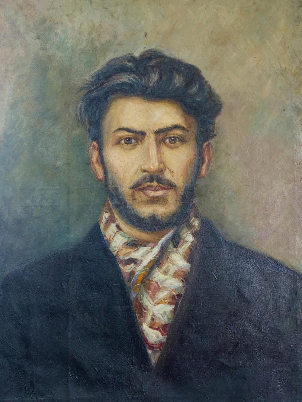 Le séduisant jeune Staline.