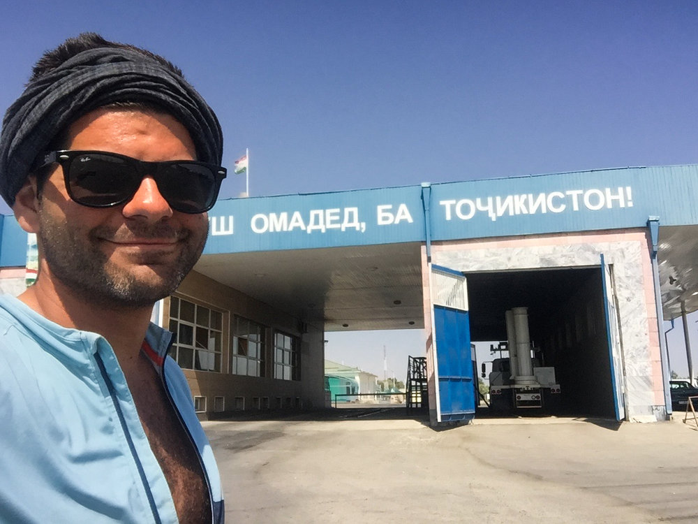La vingtième frontière, celle du Tadjikistan.