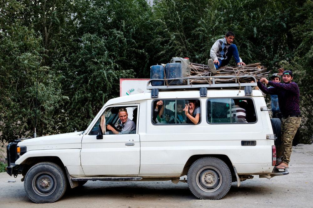 Au Tadjikistan, c'est la sécurité avant tout.