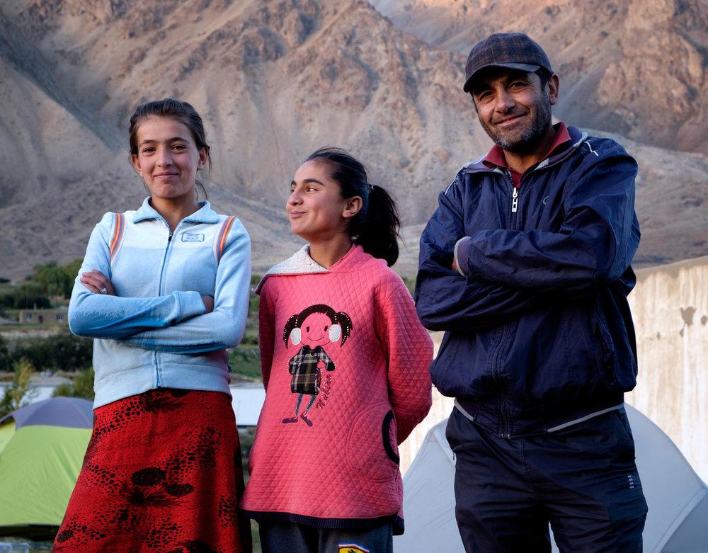 Davlat et sa famille.