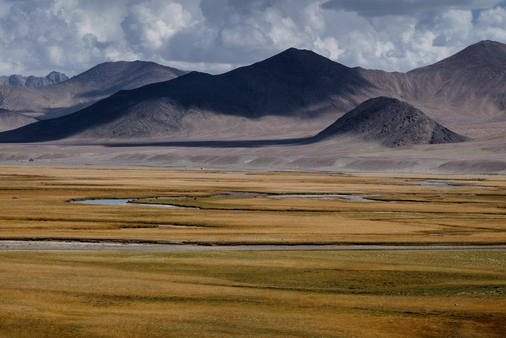 Le paysage juste avant Murghab.