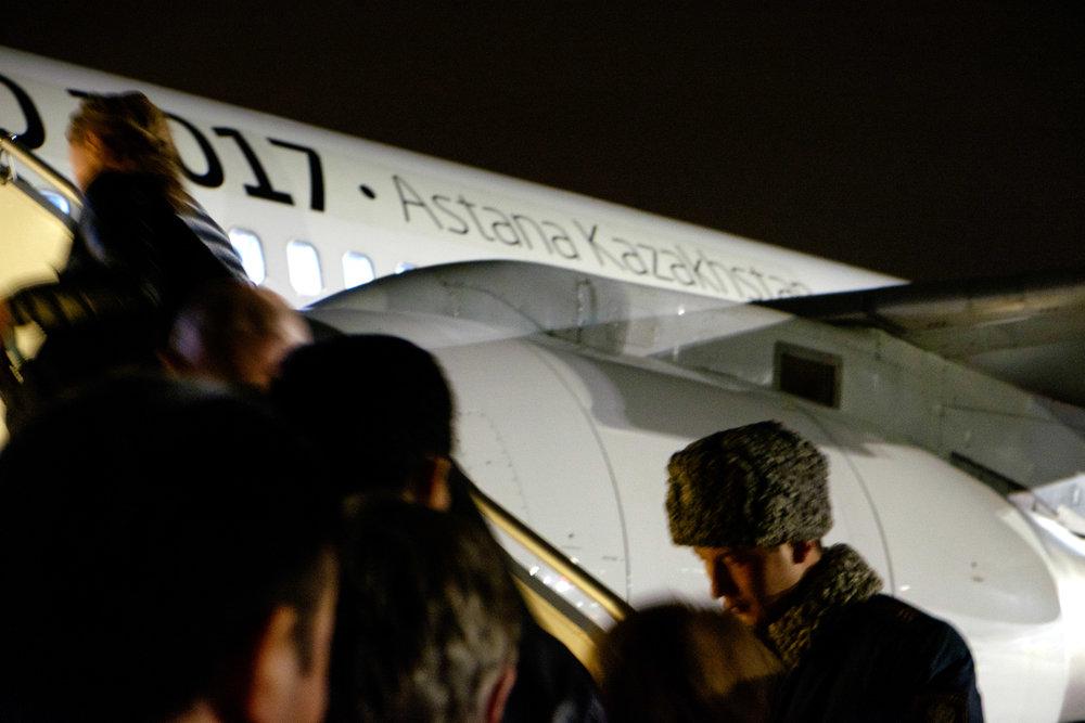 Deuxième vol sur trois - Astana, Kazakhstan, à Bangkok, Thaïlande