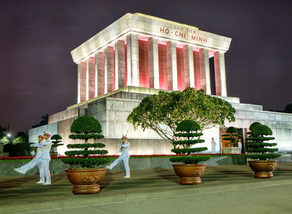 Le mausolée d'Ho Chi Minh, à Hanoï.