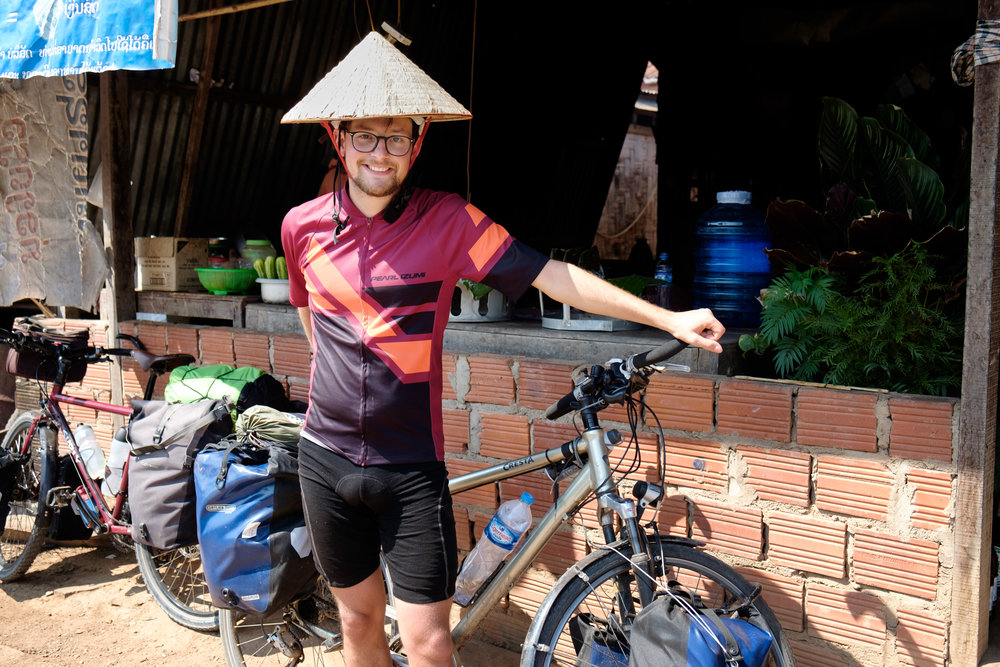 Fabian, futur médecin et cycliste Suisse.