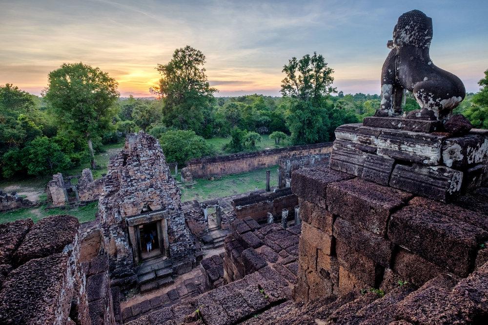 Temple Pre Rup, à Angkor.