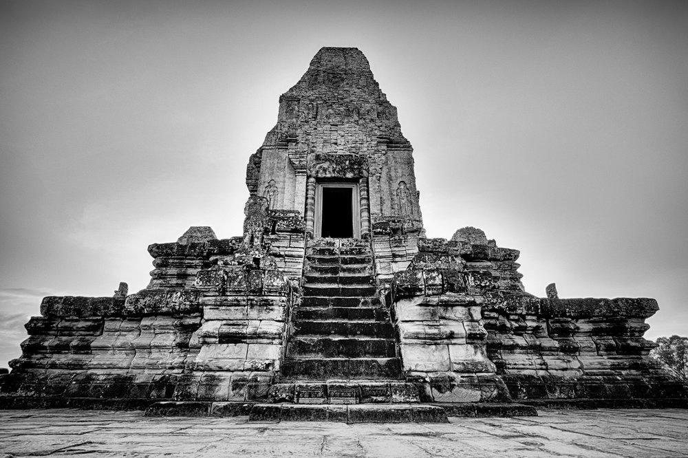 Le sommet du temple Pre Rup.