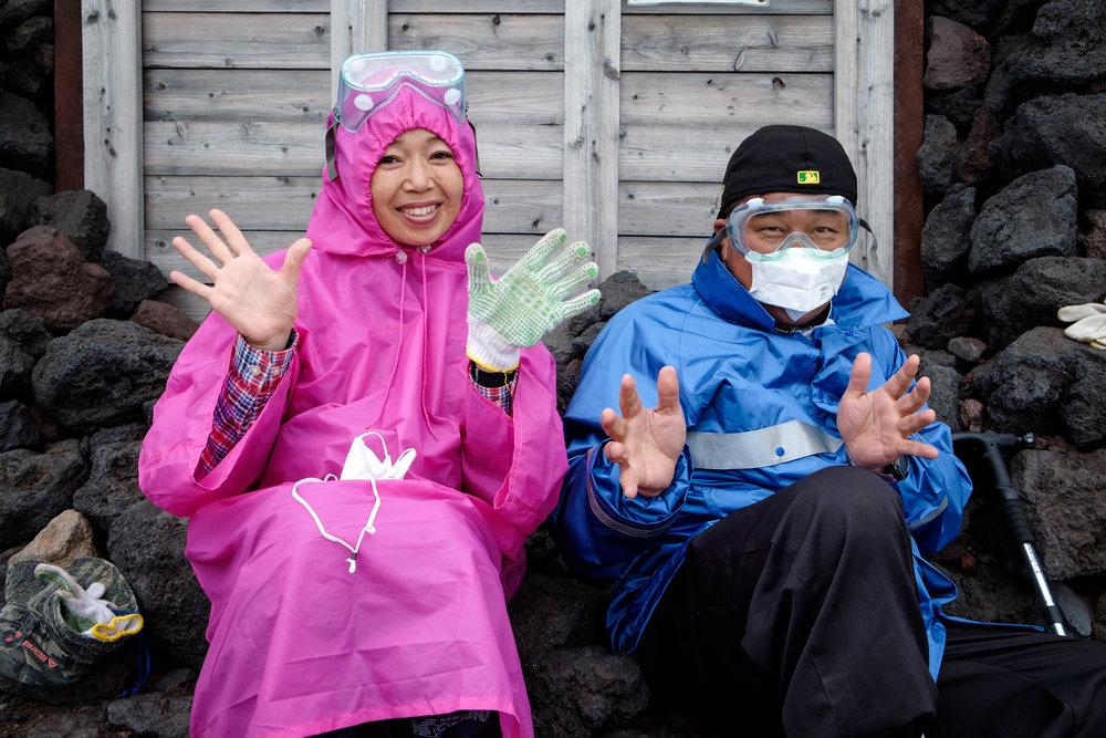 Les Japonais sont généralement préparés à tous les événements !