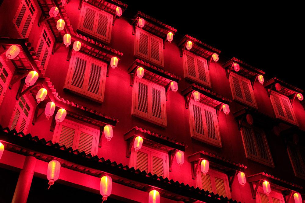 Malacca et sa grande influence chinoise.