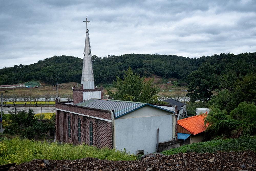 Les clochers sont partout présent en Corée du Sud.