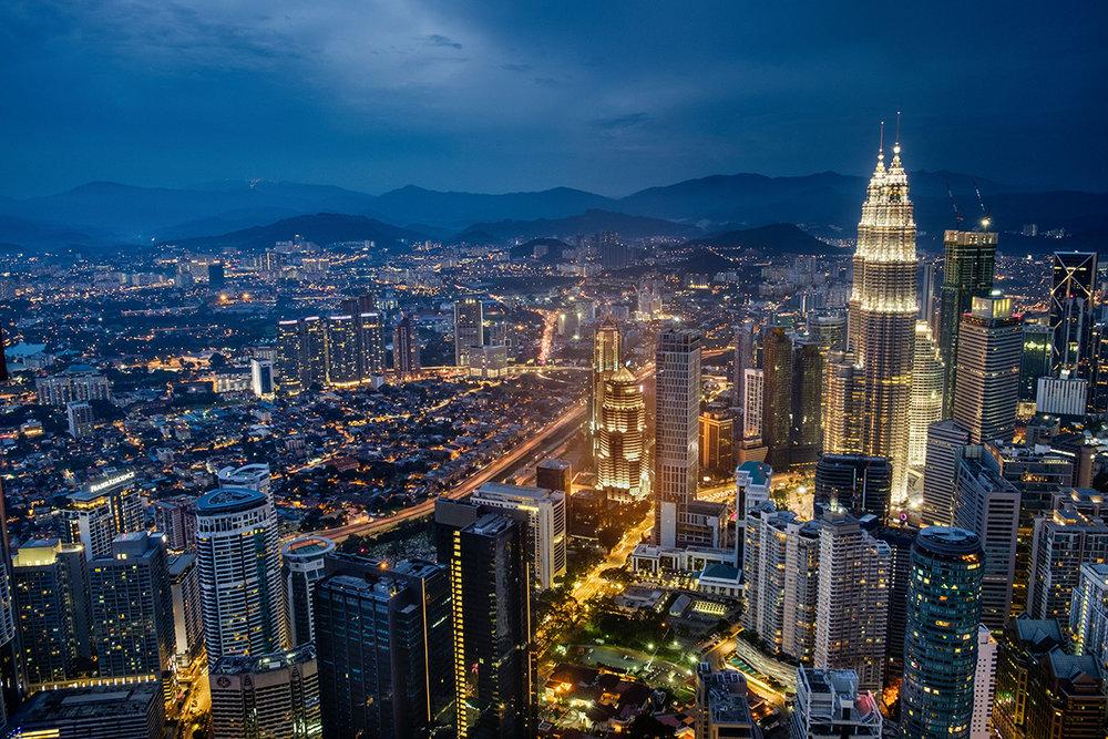 La capitale, Kuala Lumpur.