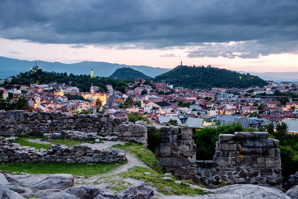 La plus vieille ville encore habitée du monde, Plovdiv en Bulgarie.