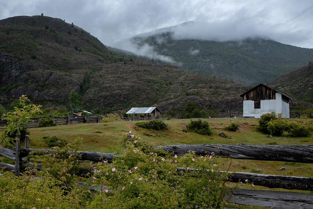 Quelques bâtiments de ferme.