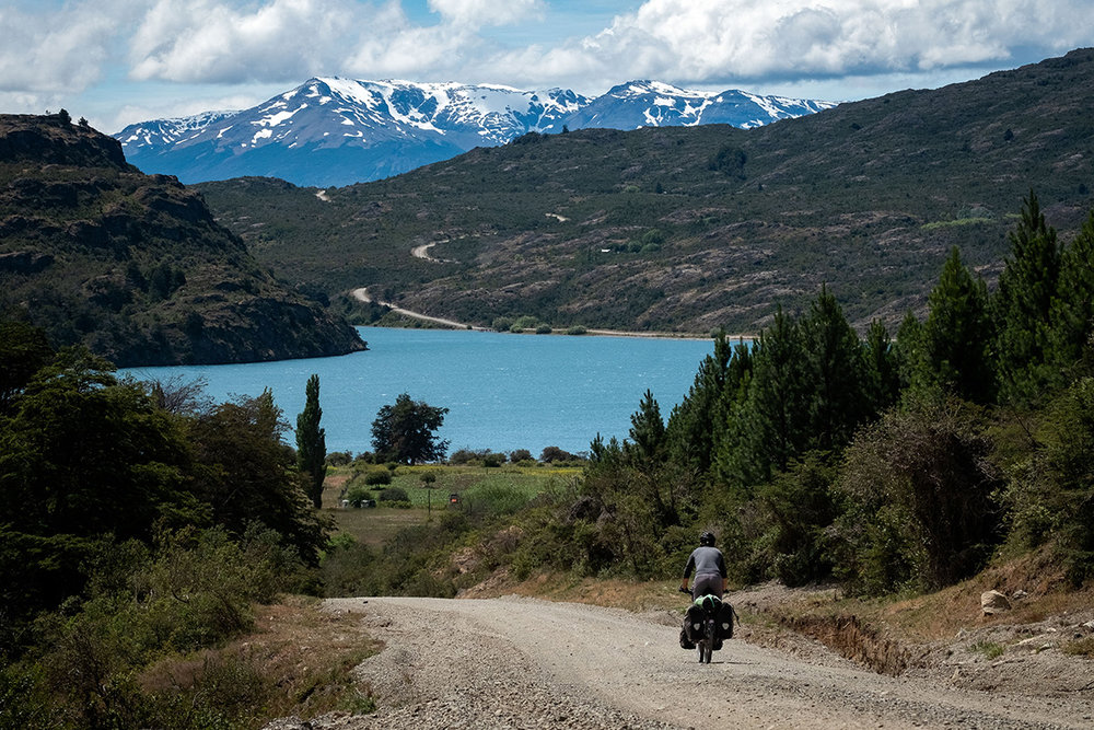 Descente vers le Lac Bertrand.