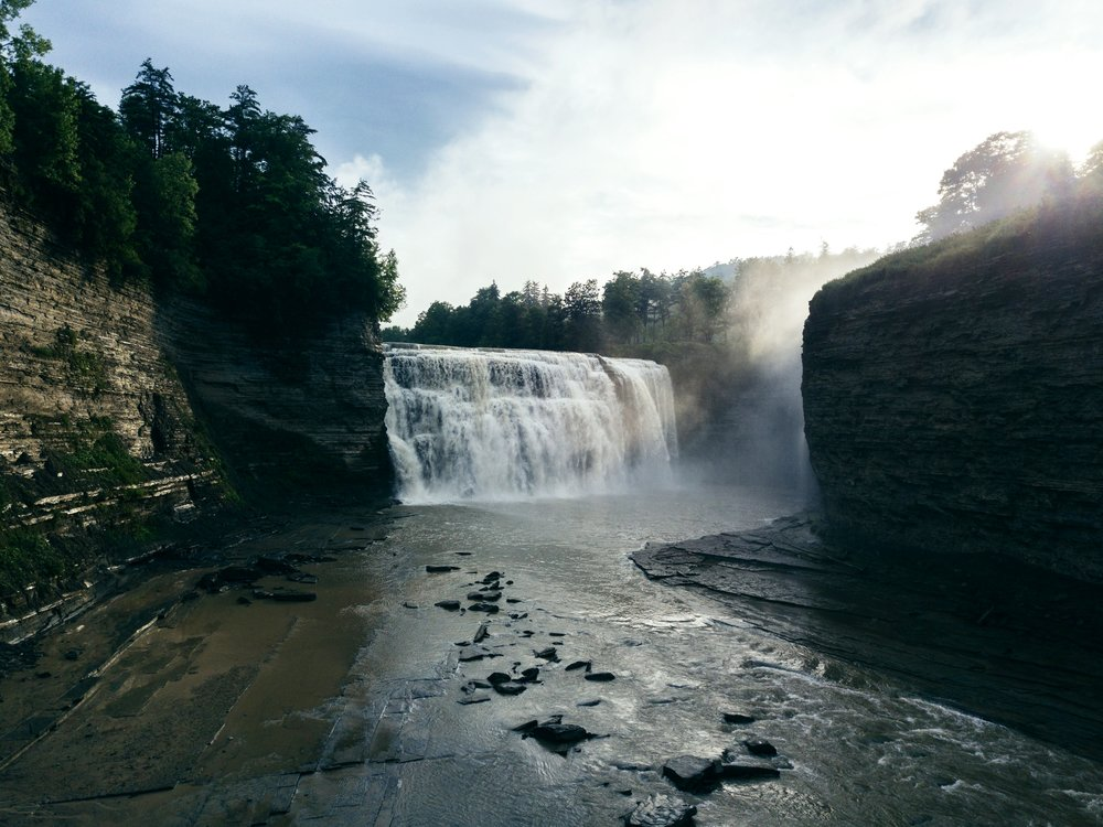 Middle Falls - Letchworth State Park, New York