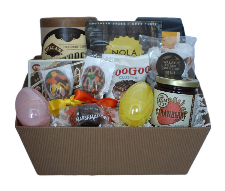 Easter baskets with a grown up twist high note gifts grown up adult easter basket negle Choice Image